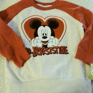 Mickey mouse sweater 3t